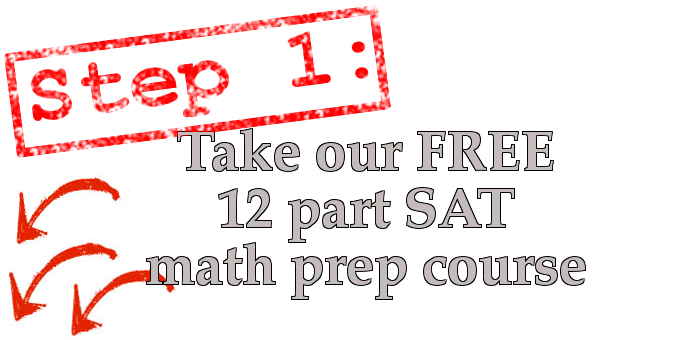 Join the 800 Initiation - a free SAT math email prep course that will help you ace the College Board's standardized testby getting SAT scores
